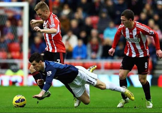Laporan Pertandingan: Sunderland 1-2 Tottenham Hotspur