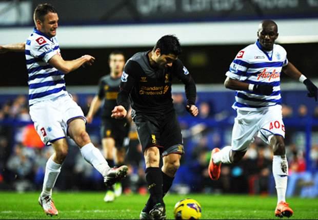 Queens Park Rangers 0-3 Liverpool: Luis Suárez lidera el paseo de los 'reds'