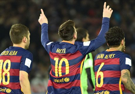 Marvellous Messi makes history again