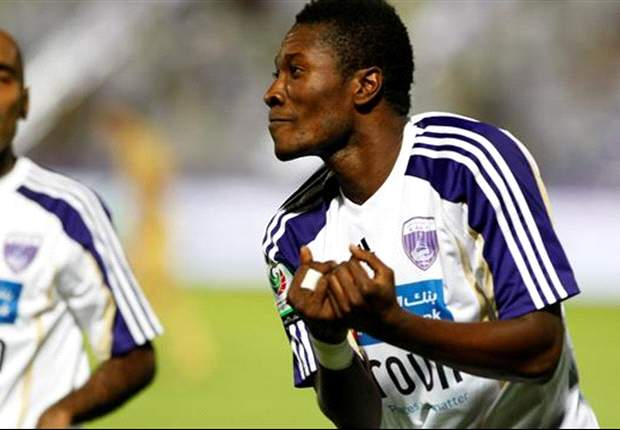 Asamoah Gyan to be decorated with top scorer award in the Arabian leagues