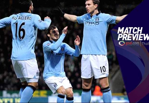 PREVIEW Manchester City - Stoke City: Masih Terus Mengejar