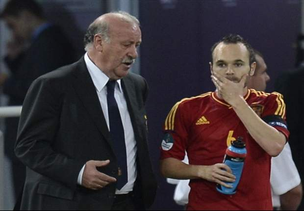 Del Bosque admits Spain lost control against Finland