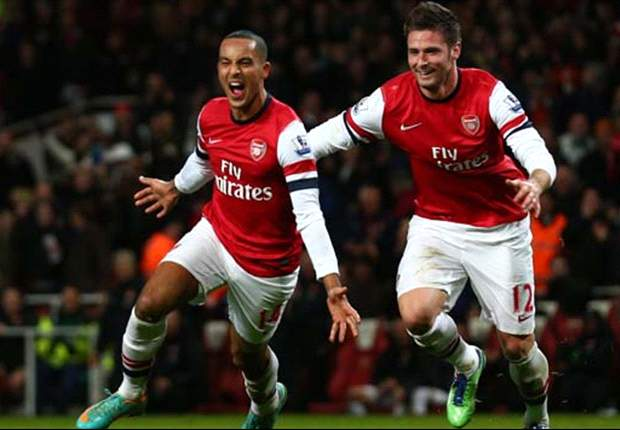 Giroud & Podolski a source of hope in Arsenal's collapsing season