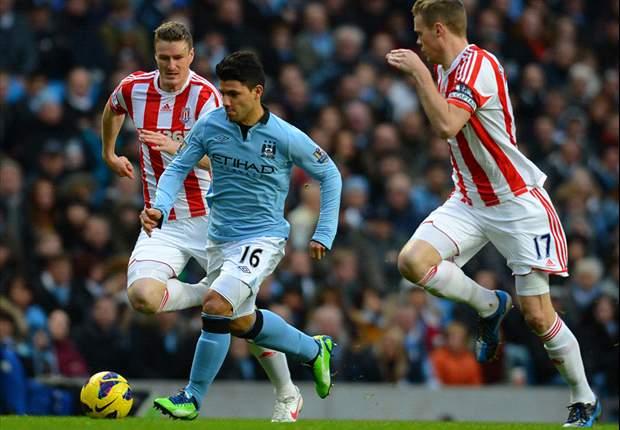 Lesionado, Aguero será desfalque para o Manchester City