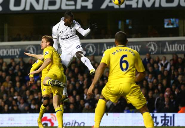 Tottenham 3-1 Reading: Adebayor & Dempsey lift in-form Spurs up to third