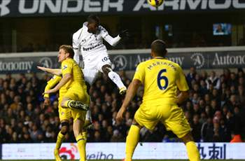 Tottenham 3-1 Reading: Adebayor and Dempsey lift in-form Spurs up to third