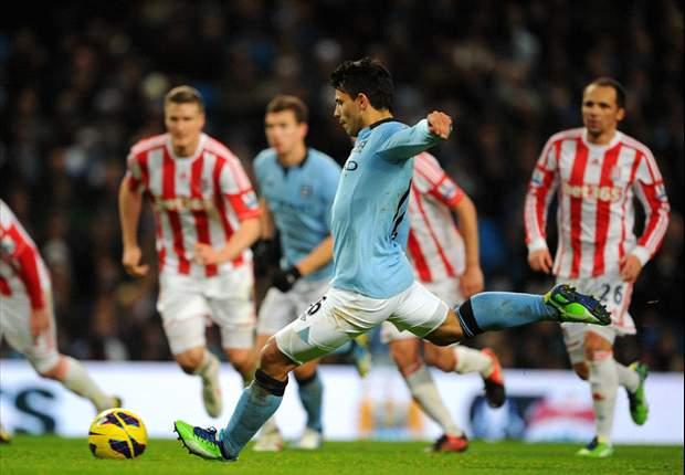 Manchester City 3 x 0 Stoke City: Manchester City vence na primeira rodada do ano
