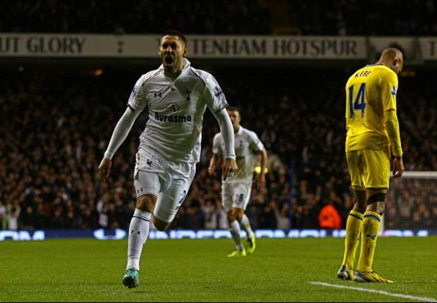 Dempsey rings in new year with game-icing goal for Tottenham