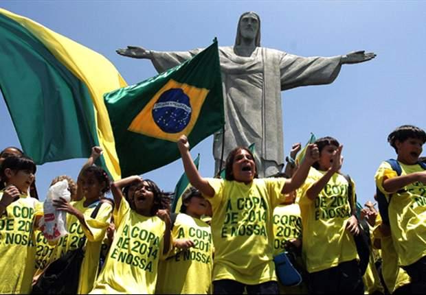 El Mundial de Brasil tendrá monedas de 100 y 10 euros
