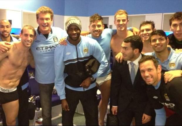 GAYA HIDUP: David Hasselhoff Ikut Rayakan Kemenangan Manchester City