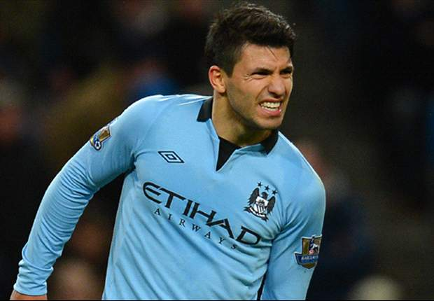 Aguero dismisses talk of Real Madrid move