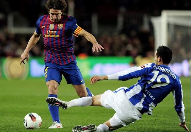 """Carles Puyol: """"Tito Vilanova y Eric Abidal son un ejemplo para todos"""""""