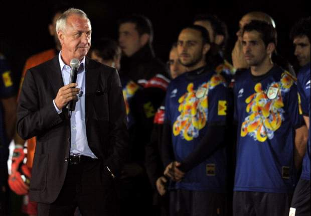 Cruyff's coaching career ends with Nigeria draw