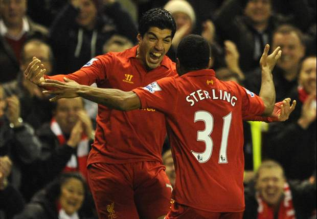Sterling: Playing alongside Suarez 'is one of the best things ever'