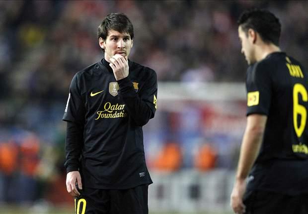 Lionel Messi y Xavi Hernández hicieron una visita sorpresa a un modesto club francés