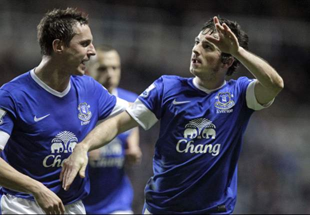 Newcastle 1-2 Everton: Baines & Anichebe complete spirited Toffees' comeback