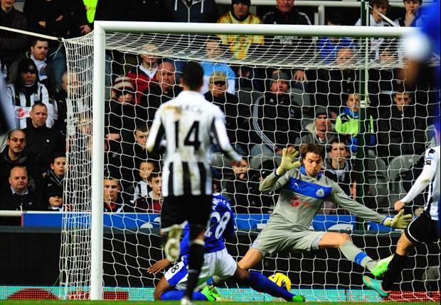 Faltó Demba Ba y Everton dio el golpe Saint James' Park
