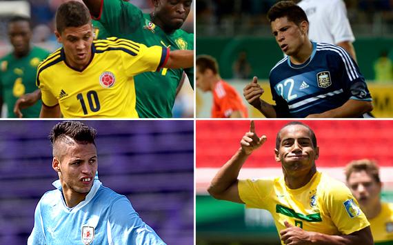 Los cracks a seguir en el Sudamericano Sub-20