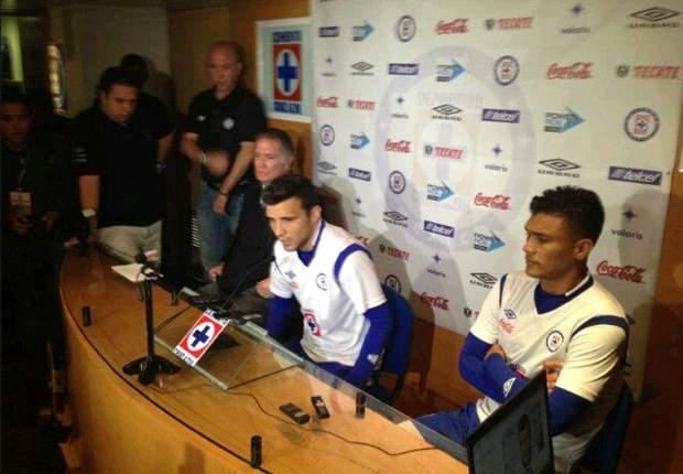 Cruz Azul presentó a Teófilo Gutiérrez y Nicolás Bertolo