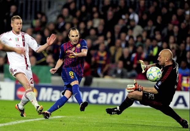 Iniesta é o melhor armador do futebol mundial, segundo IFFHS