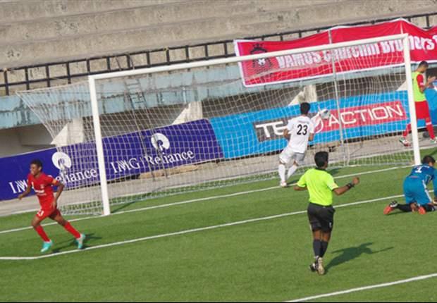 Churchill Brothers SC 6-0 Shillong Lajong FC: The Goan side thrash Bulpin's boys