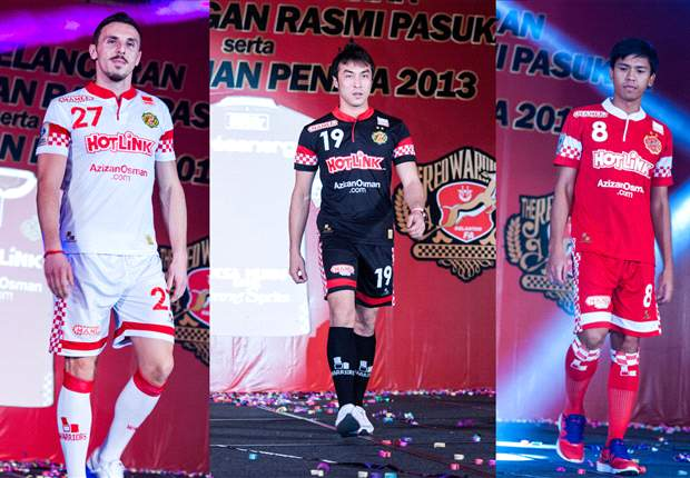 The Red Warriors officially unveil 2013 season kit in Kota Bharu