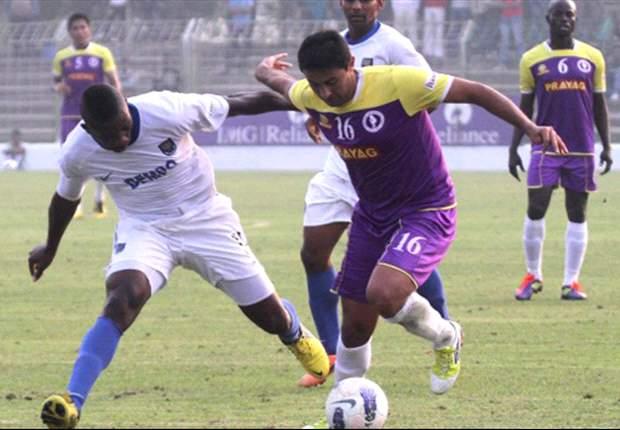 Prayag United 1-0 Dempo SC: Carlos Hernandez's free-kick stuns the defending champions