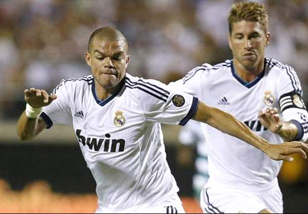 Pepe volta a treinar no Real Madrid