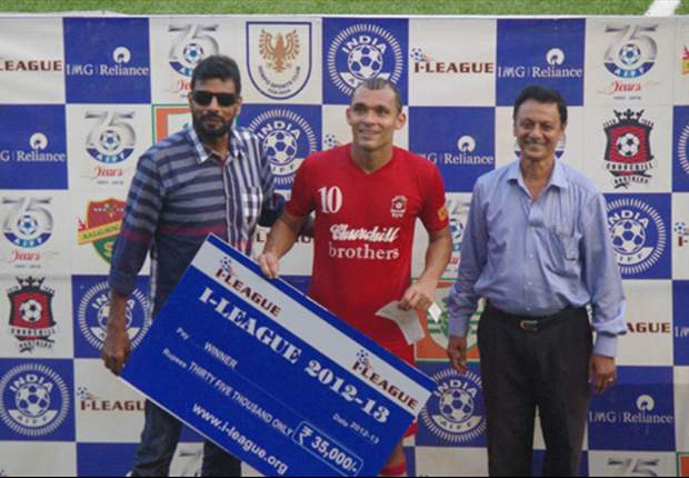 Churchill Brothers' Beto grateful for Goal.com's World Player of the Week honour