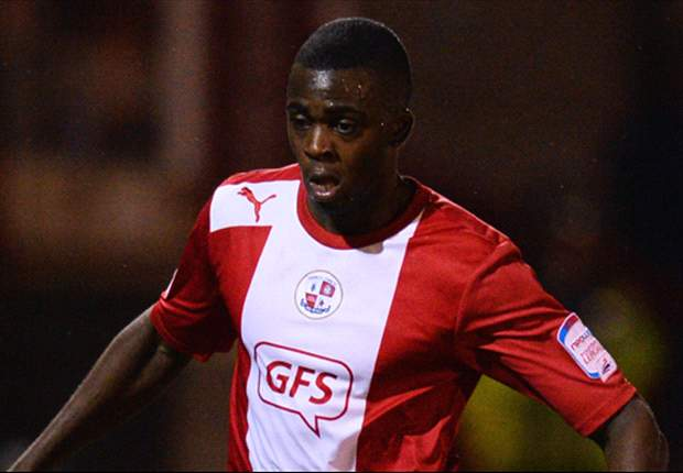 Reading sign Hope Akpan from Crawley