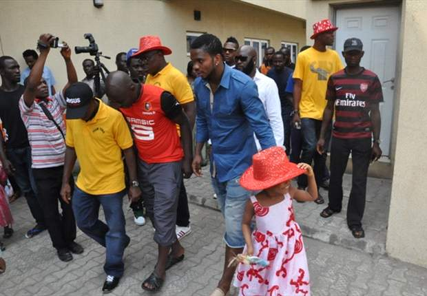 PHOTOS: Joseph Yobo donates to charities