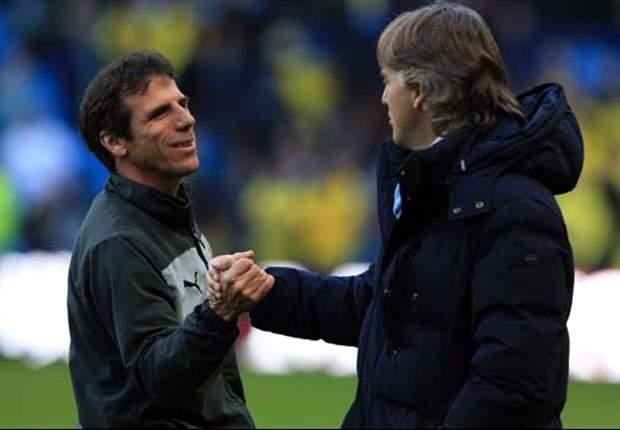 """Zola ricorda le vecchie gare fra Napoli e Juventus: """"E' sempre stata una sfida sentitissima per i partenopei"""""""