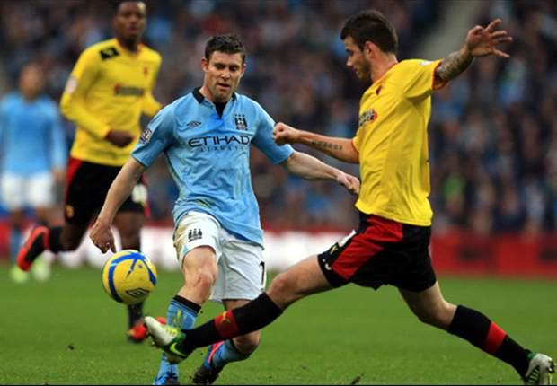 Laporan Pertandingan: Manchester City 3-0 Watford