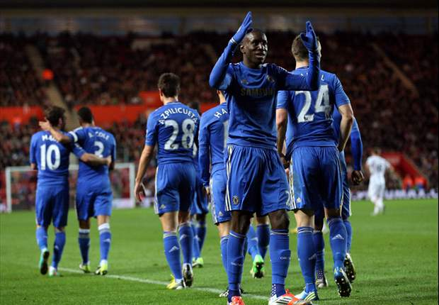 Southampton 1-5 Chelsea: Ba debut double keeps holders marching on