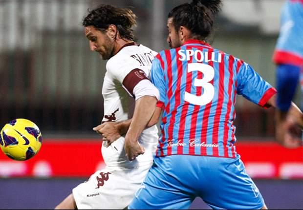 Sepuluh Pemain Catania Bendung Torino