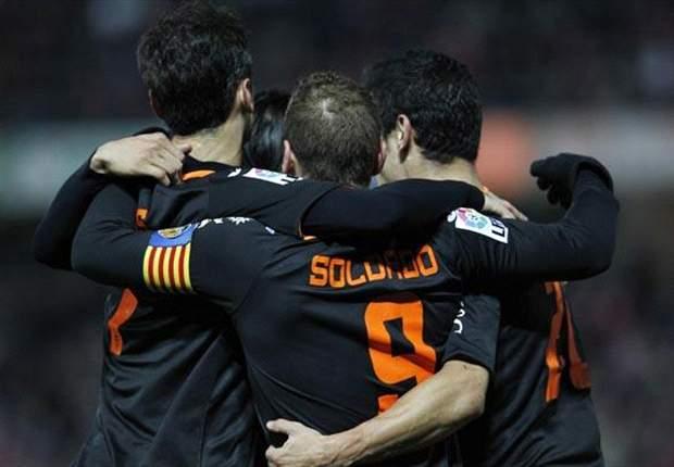 Malaga und Valencia ziehen nach sicheren Siegen ins Viertelfinale ein