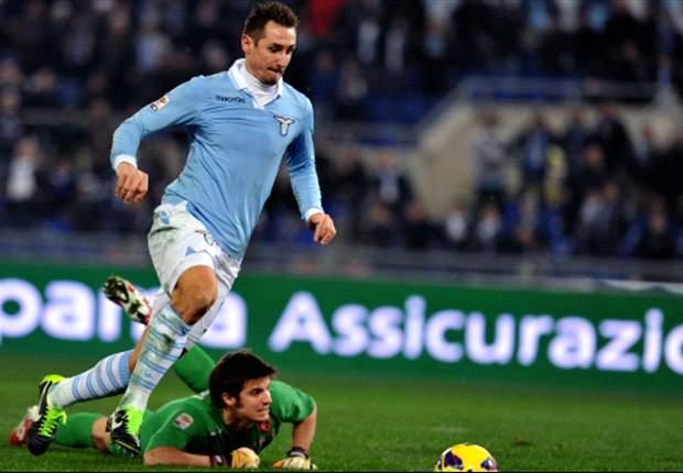 Lazio nadert Juventus door nauwe zege