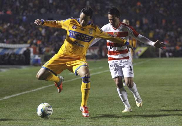 "Tigres 3-0 Jaguares: Gran noche de ""Tito"" Villa con triplete"