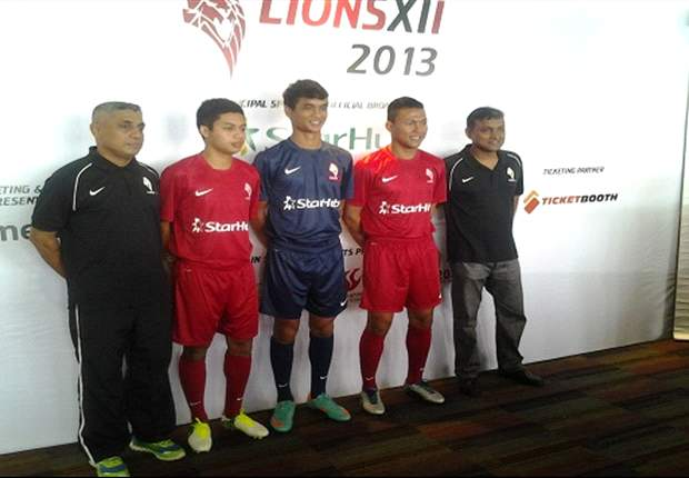 LionsXII squad for 2013 Malaysian Super League unveiled