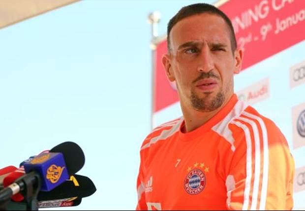 "EdF - Ribéry : ""Nasri ? Un des meilleurs"""