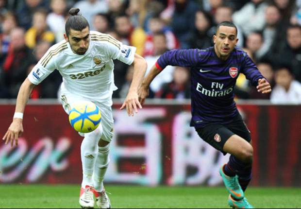Laporan Pertandingan: Swansea City 2-2 Arsenal