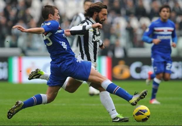 Sepuluh Pemain Sampdoria Tekuk Juventus