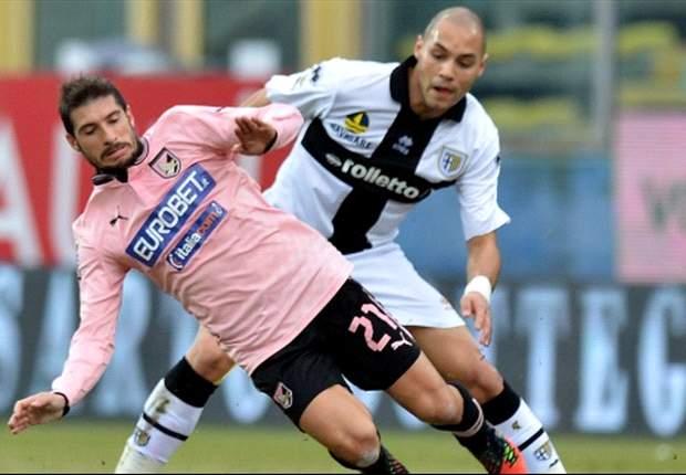 Battuta la concorrenza del Parma, l'Atalanta convince il Palermo e si prende Brienza