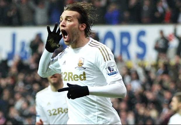 Michu eyeing landmark February with Swansea and Spain