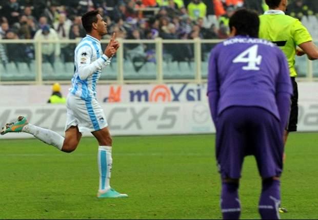 Fiorentina 0 x 2 Pescara: Viola perde a chance de se aproximar da Lazio