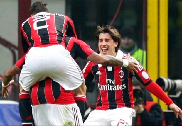 Milan 2 x 1 Siena: Bojan sai do banco e leva o Milan à vitória