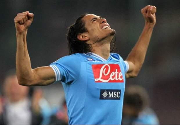'Cavani was stunning' - Napoli boss Mazzarri hails hat-trick hero