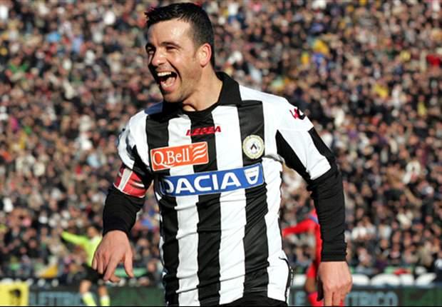 Verso Udinese-Napoli: Di Natale farà coppia con Muriel, Mazzarri risparmia il diffidato Pandev
