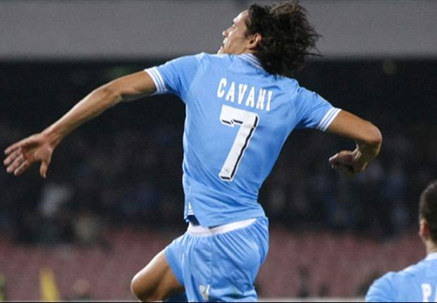Mancini target Cavani has 'eyes for Real Madrid', claims father