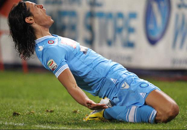 Manchester City target Cavani coy on future as Napoli demand £51m